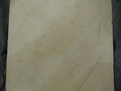 Seltener Fliesenboden um 1810  FB 1/16